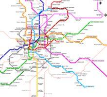 Madrid Metro Sticker
