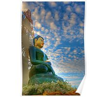 Jade Buddha for Universal Peace Poster