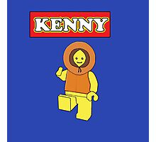 Kenny Man Photographic Print