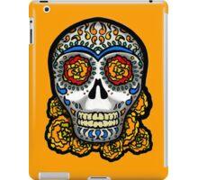 Sugar Skull - Marigolds iPad Case/Skin