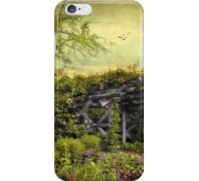 Garden  Arbor iPhone Case/Skin
