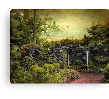 Garden  Arbor Canvas Print