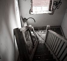 Staircase Of No Light by pennphotography