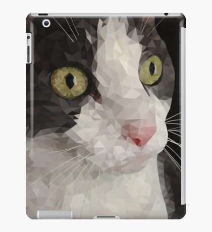Cat PolyPortrait iPad Case/Skin