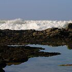 Rough waves and Calm waters by Carel du Preez