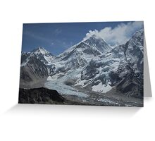 Mount Everest from Kala Patar Greeting Card