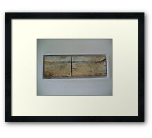 Capertee valley Plein Air painting  Framed Print