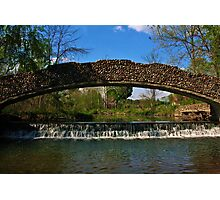 Eco Lab Waterfall Photographic Print