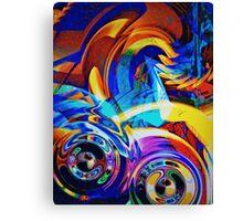 Duck Bikers  Canvas Print