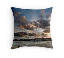 Sunset, Bondi Beach Throw Pillow