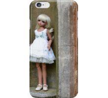 Emily on pedestal iPhone Case/Skin