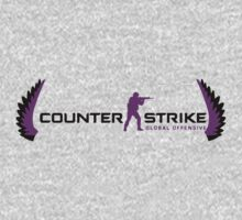 Counter Strike Global Offensive - Purple Daze by imperviousarts