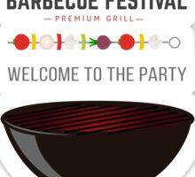 Barbecue Sticker
