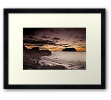 Morning Silence Framed Print