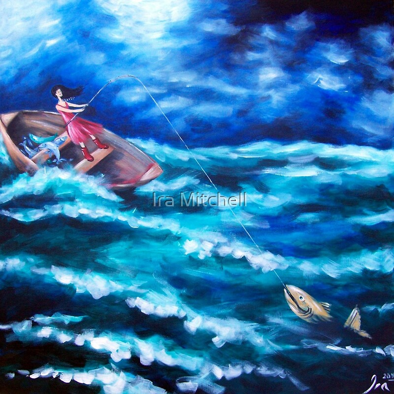 Plenty more fish in the sea canvas prints by ira for How does plenty of fish work