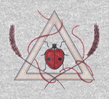 LadyBug Triangle - Classic One Piece - Long Sleeve