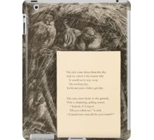 Five Mice in a Mouse Trap Laura Elisabeth Howe Richards and Kate Greenaway 1881 0100 Rain Poem iPad Case/Skin