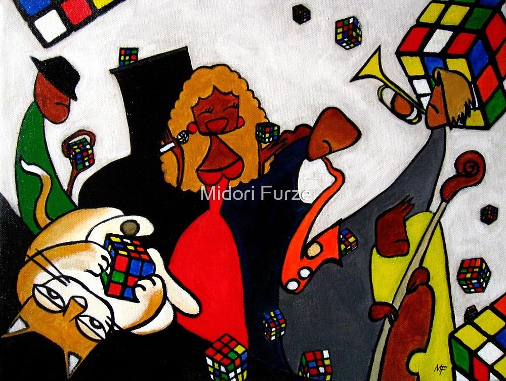Rubik's Cube Rhapsody #2 by Midori Furze