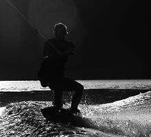 The Silver Wakeboarder by Jesse Taylor