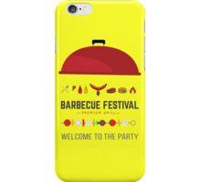 Barbecue festival iPhone Case/Skin