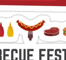 Barbecue festival Sticker