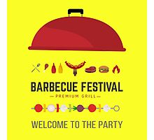 Barbecue festival Photographic Print