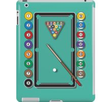Pocket Billiards iPad Case/Skin