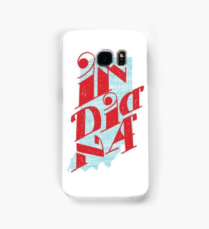 United Shapes of America - Indiana Samsung Galaxy Case/Skin