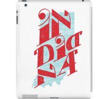 United Shapes of America - Indiana iPad Case/Skin