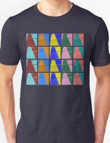 Pop art Daleks - variant 2 Unisex T-Shirt