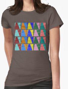 Pop art Daleks - variant 2 Womens Fitted T-Shirt