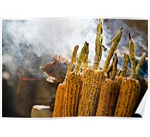roasted corn Poster