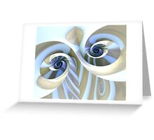 Multi-Swirl Greeting Card
