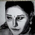 The demure Indian bride by Sneha Nadig