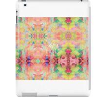Let's Holi iPad Case/Skin