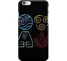 Avatar Four Elements iPhone Case/Skin