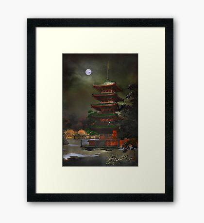 Kinryzuan Temple Framed Print