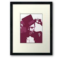 Mr. Robert Downey Jr. Framed Print