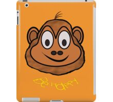 A Be Happy Chimp T-shirt, leggings, etc. iPad Case/Skin