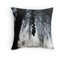 The Canopy of the Willow Tree Throw Pillow