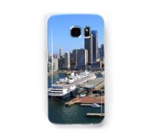 Cruiser Ship in Sydney Samsung Galaxy Case/Skin
