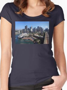 Cruiser Ship in Sydney Women's Fitted Scoop T-Shirt