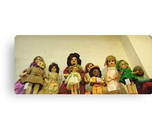 Dolls Canvas Print