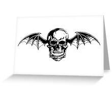 Classic Deathbat Greeting Card