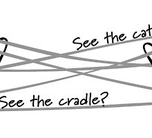 See the cat? See the cradle? by Melzasaurus