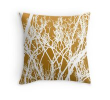 wriggly tree fingers  Throw Pillow