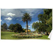 Scenic garden Poster