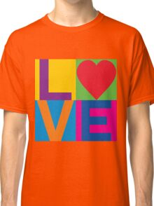 Checkered LOVE Classic T-Shirt