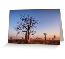 At Dusk Greeting Card