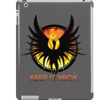 Blazing Phoenix - Keep It XBOX iPad Case/Skin